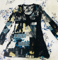 John Galliano top/ tunic/ dress