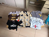 Used New 6 mix Brands 👦 rompers,carters👇 in Dubai, UAE