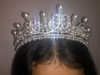 Used Bejeweled Crown for wedding/event  in Dubai, UAE