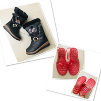 Used Jelly shoes&Boots for girl 28/33+5 FREE in Dubai, UAE