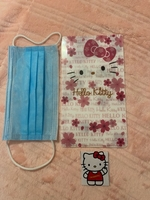 Used Hello kitty disposable mask envelop in Dubai, UAE