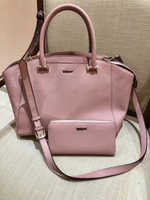 Used dkny pink bag and wallet in Dubai, UAE