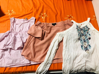 Used Branded tops from Hollister,topshop.... in Dubai, UAE