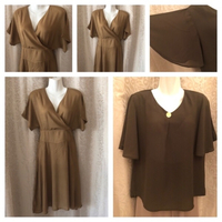 Used Dress size XL & blouse size XL new in Dubai, UAE