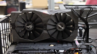 Used Graphic card Asus strix 4 gb 1050ti  in Dubai, UAE