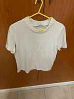 Used Zara off white top in Dubai, UAE