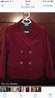 Used Miu miu blazer burgundy jacket  in Dubai, UAE