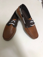 Brand new Genuine leather topsiders