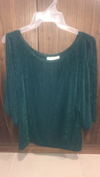 Used Emerald Green Sparkly Party Top in Dubai, UAE