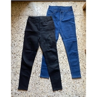 Used 2ps stretch jeans blue+black in Dubai, UAE