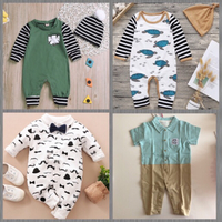 Used Bundle of Jumpsuits ( 9-13 mos) in Dubai, UAE