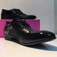 Used Man Casual shoes in black size 41 in Dubai, UAE