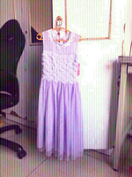 Used New Junior lavender gown BabyShop.read👇 in Dubai, UAE