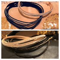 Used 2 leather chokers  in Dubai, UAE