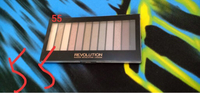 Used New eyeshadow palette revolution  in Dubai, UAE