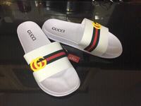 Used Gucci slippers size 44, new in Dubai, UAE