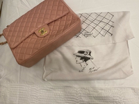 Used Large Chanel bag (copy), Powder Pink  in Dubai, UAE