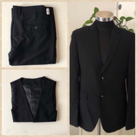 Used Complete Set of Black Suit in Dubai, UAE