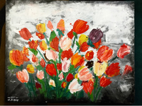 Used Garden of Reed Painting in Dubai, UAE
