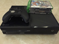 Used Xbox one 500 gb and elite controller in Dubai, UAE