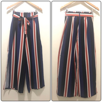 Used New 2Pcs Multicolor Wide-Leg Pant Size S in Dubai, UAE