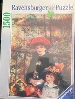Used Puzzle 1500 pcs pictures new  in Dubai, UAE