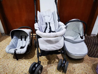 Used Prenatal Stroller with CarSeat & Carrier in Dubai, UAE