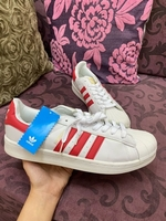 Used Superstar adidas red shoes in Dubai, UAE