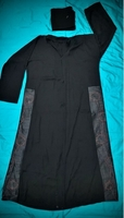 Used Abaya Size 56 with Side Embroidery in Dubai, UAE