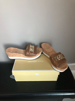 Used Michael Kors sandals authentic  size37,5 in Dubai, UAE