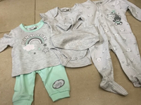 Used Baby set(6/9months)-5 pcs cotton in Dubai, UAE