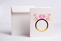 Used Engagement Ring Card in Dubai, UAE