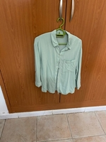 Used Bersheka green shirt in Dubai, UAE