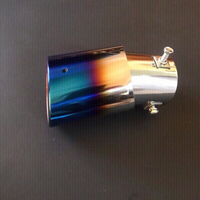 Universal colorful exhaust pipe