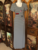 Long stripe dress size M