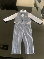 Used 4pieces baby boy waistcoat with trousers in Dubai, UAE