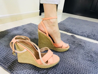 Used Steve Madden wedges Authentic  in Dubai, UAE