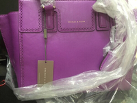 Used Charles and Keith Purple hand bag in Dubai, UAE