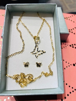 Used Real gold 18k 1.78 grams set in Dubai, UAE