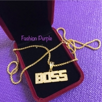 Used Boss HipHop Necklace in Dubai, UAE