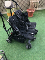 Used Maclaren twin stroller in Dubai, UAE