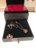 Used Gift box🌹with ring and necklace  in Dubai, UAE