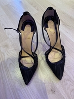 Used Louboutin black heels in Dubai, UAE