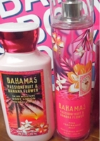 Used Pink Passionfruit and banana mist+lotion in Dubai, UAE