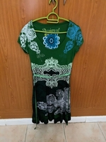 green dress from Desigual