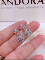 Used Pandora earrings for sale in Dubai, UAE