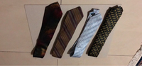 Used 4 x Men's ties in Dubai, UAE