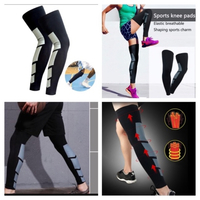 Used Long leg knee protection support size L in Dubai, UAE