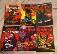 Used Goosebumps series books for kids.  in Dubai, UAE