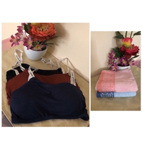 NEW 3x Sports Bra MEDIUM + 2x Towels